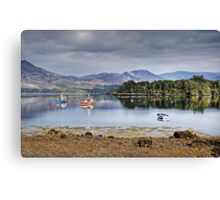Boats on Ring of Kerry Canvas Print