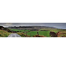 Panorama of Donegal Ireland Photographic Print