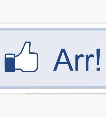 Arr! Sticker
