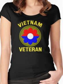 9th Infantry Division (Vietnam Veteran Women's Fitted Scoop T-Shirt