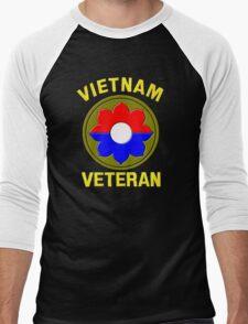 9th Infantry Division (Vietnam Veteran Men's Baseball ¾ T-Shirt