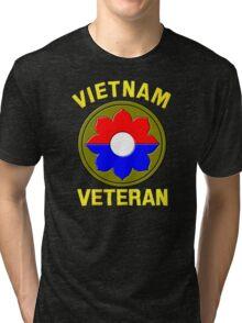 9th Infantry Division (Vietnam Veteran Tri-blend T-Shirt
