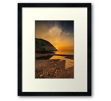 Sunset at Blacksea Framed Print