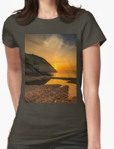 Sunset at Blacksea Womens Fitted T-Shirt