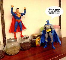 Superman vs Batman by mungeeman