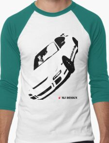 Porsche GT3RS T-Shirt Black and White 911 T-Shirt