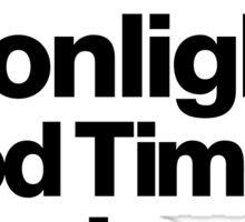 Sunshine, Moonlight & Boogie Ampersand Helvetica Getup Sticker