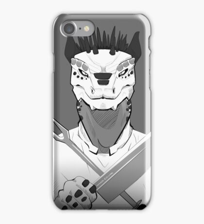 Lizard Chef iPhone Case/Skin