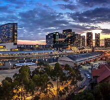 Yarra River Panorama by Russell Charters