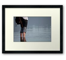 Strayed Off The Path Framed Print