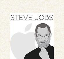 Steve Jobs Zipped Hoodie