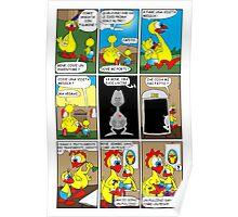 """Rick the chick  """"THE MAGIC SHELL (la visita medica) parte 6"""" Poster"""