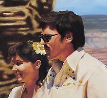 Wedding at the Grand Canyon by Boris J