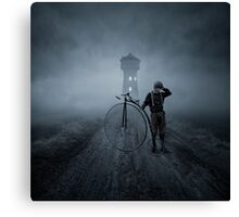 Lost road Canvas Print