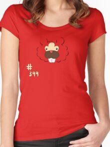 Pokemon 399 Bidoof Women's Fitted Scoop T-Shirt