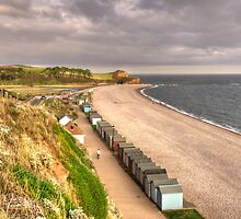 The Beach at Budleigh by Rob Hawkins