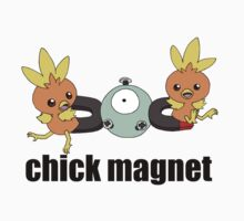 Pokemon Chick Magnet by methuselah