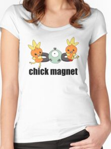 Pokemon Chick Magnet Women's Fitted Scoop T-Shirt