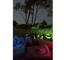 painting with light Photographic Print