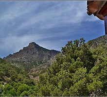 Mountains at Costa Blanca. by Janone