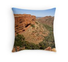Kings Canyon- Northern Territory Throw Pillow