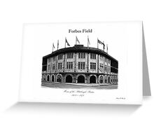Forbes Field Greeting Card