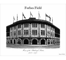 Forbes Field Photographic Print