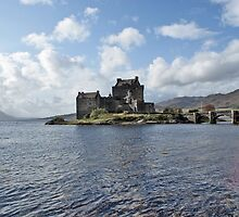 Eilean Donan Castle, Scotland by David Alexander Elder