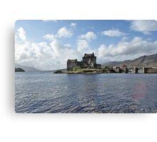 Eilean Donan Castle, Scotland Canvas Print