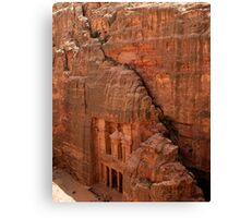 Treasury at Petra, Jordan Canvas Print