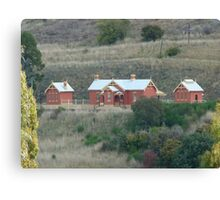 Carcoar Railway Station 1888 Canvas Print