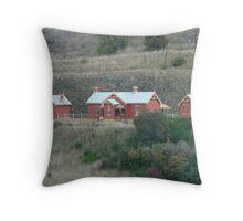 Carcoar Railway Station 1888 Throw Pillow