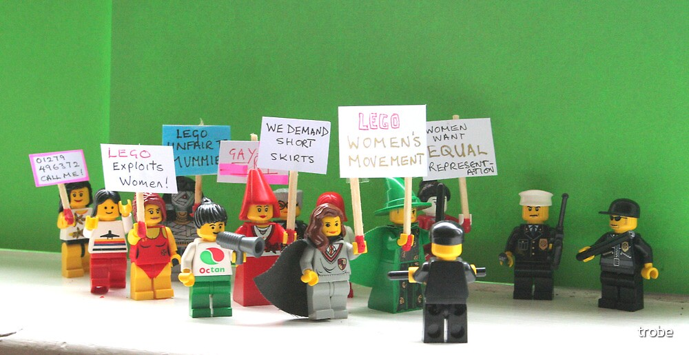 The Protest March by trobe