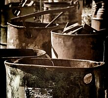 Abandoned Barrels... by clearviewstock
