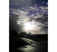 Threatening Sky, colour Photographic Print
