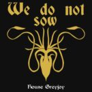 we do not sow by Apeiron