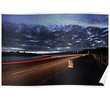 road at night  Poster