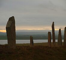 Brodgar Morning by kalaryder