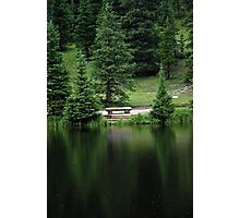 Lake Irene Dressed in Green Photographic Print