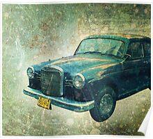 Old Havanna Car Sedan  Poster