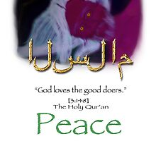Islam  The Peaceful One by ahomewithin