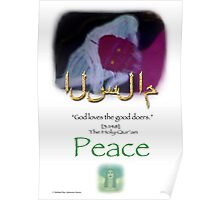 Islam  The Peaceful One Poster