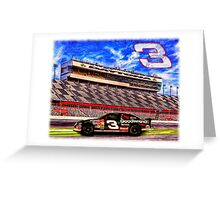 "Dale Earnhardt Sr. ""The Intimidator"" Greeting Card"