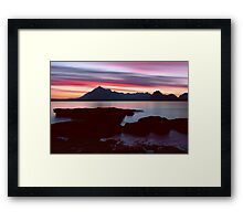 Skye's Night Sky Framed Print