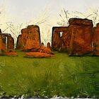 Stone Henge by nikkiidaniels