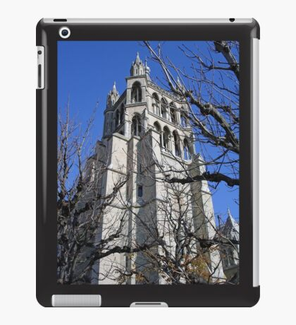 Lausanne Cathedral Gothic  iPad Case/Skin