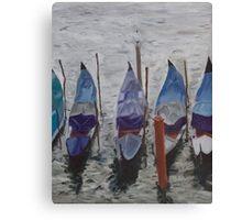Autumn Gondolas Canvas Print