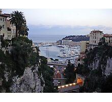 Monaco Port  Photographic Print