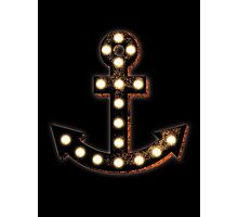 Marquee Anchor Photographic Print