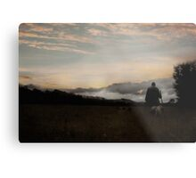 Last Walk of the Day Metal Print